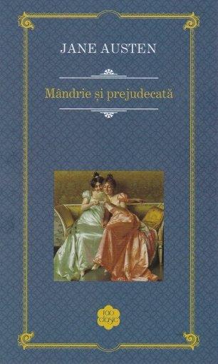 Coperta cartii Mandrie si prejudecata de Jane Austen