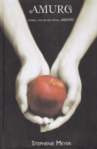 Coperta cartii Amurg de Stephenie Meyer