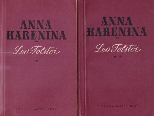 Coperta cartii Anna Karenina de Lev Tolstoi