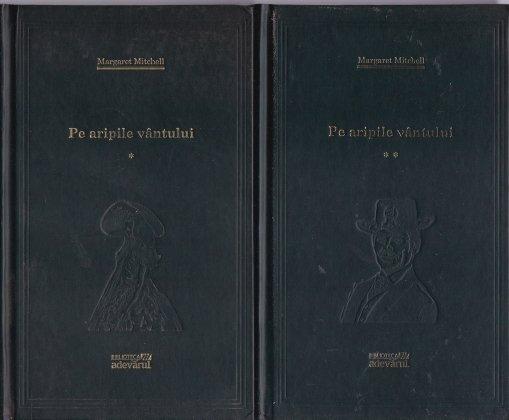 Coperta cartii Pe aripile vantului de Margaret Mitchell