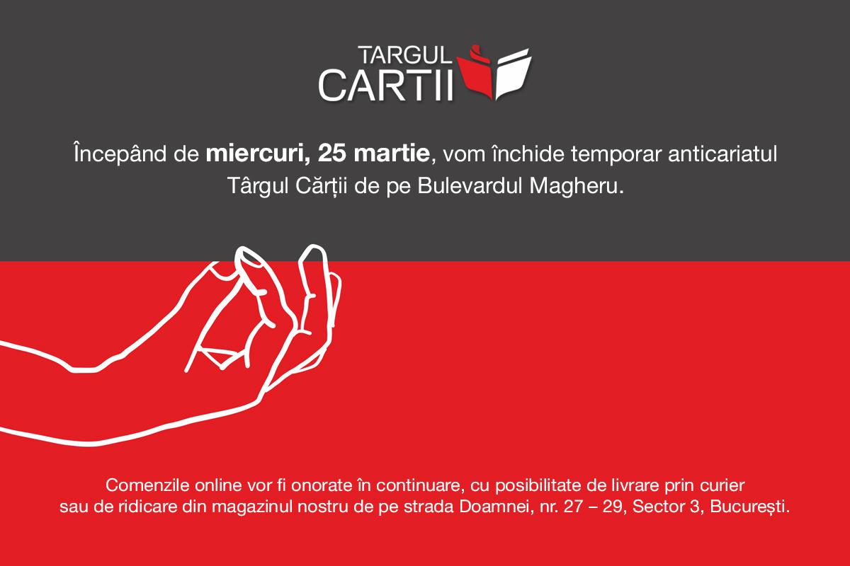 inchidere magazin Targul Cartii